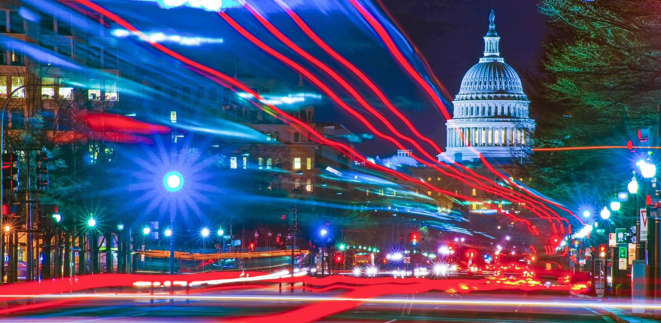 U.S. Capital,Washington.D.C Dawn