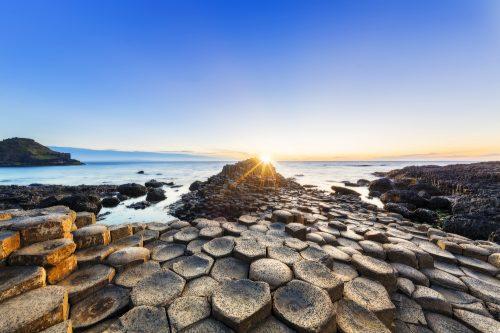 Sunset, Sunrise - Dawn, Sun, Stone - Object, National Landmark